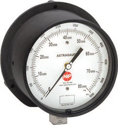 ASTRAGAUGE High Pressure Gauges | High Pressure Company
