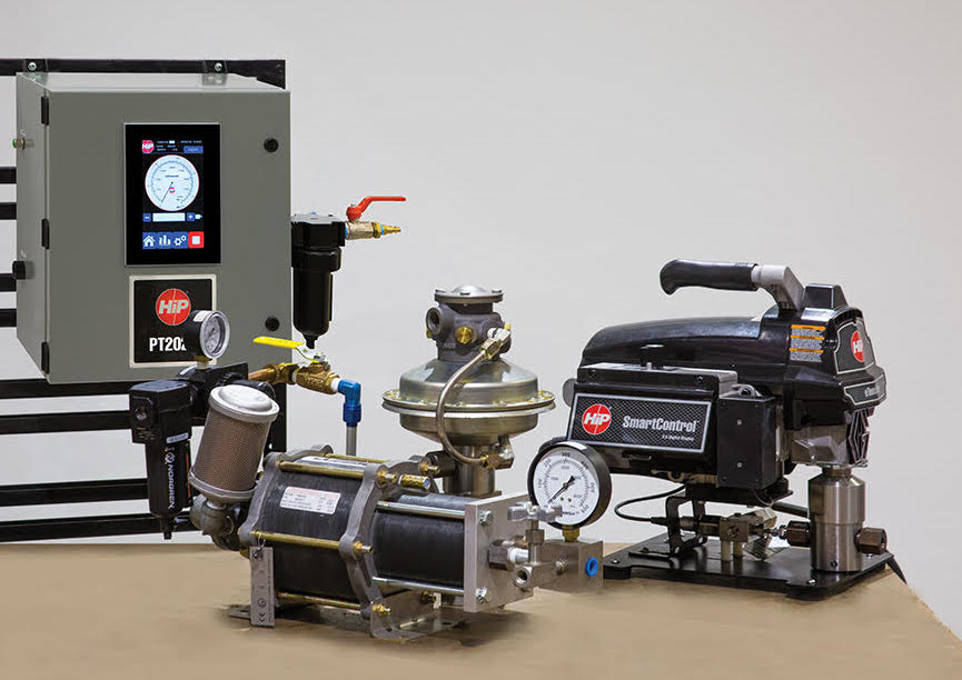 New Automated Pump Controller System  for Air-Driven High Pressure Hydraulic Pumps