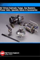 Air Driven Hydraulic Pumps, Gas Boosters, Power Units ...